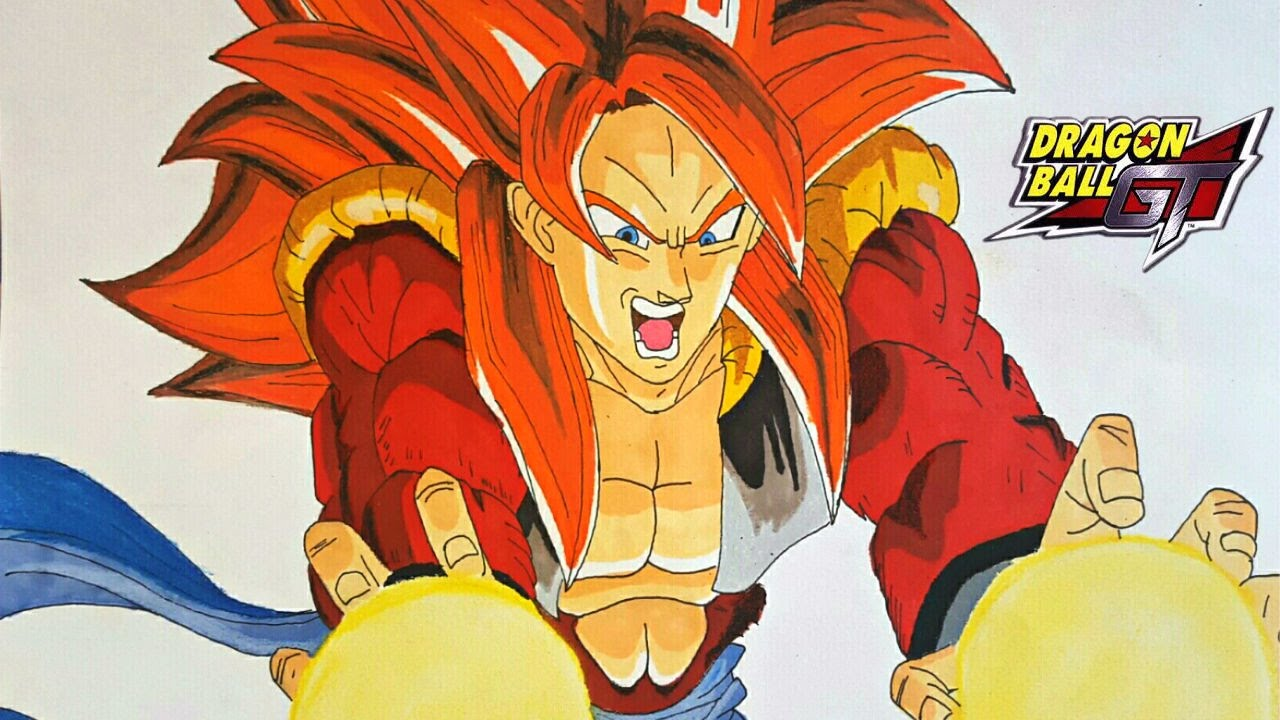 Cómo Dibujar A Gogeta Super Saiyan 4 How To Draw Gogeta Super Saiyan 4 Paso A Paso Magicbocetos Youtube