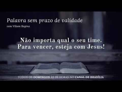 Estar no time de Jesus é sempre certeza da vitória