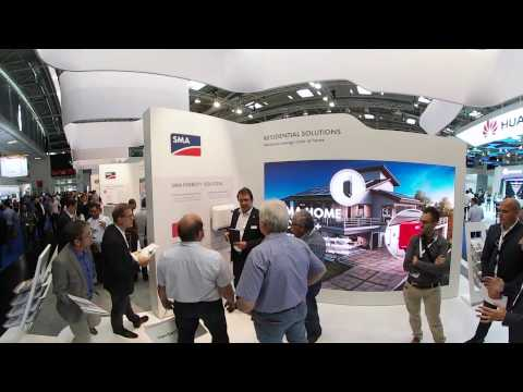 SMA at Intersolar Europe 2017 (360° Video)