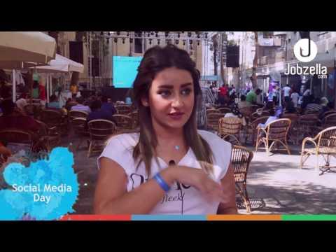 Jobzella at Social Media Day Egypt 2017