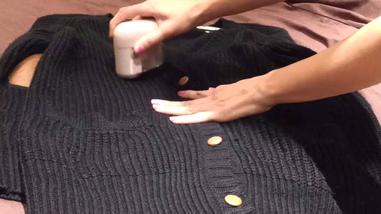 how to diy get rid of bobbles lint balls on your clothes youtube. Black Bedroom Furniture Sets. Home Design Ideas