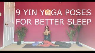 9 Yin Yoga poses for better sleep