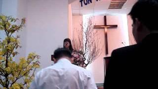 Chị Thu Hà dẫn chương trình- HTTL Thanh Đa- lễ 22012012