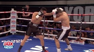 WATCH! - HARLEY BENN (NIGEL BENN SON) DESTROYS ZUBKO IN 2ND ROUND ON PRO-DEBUT (FOOTAGE)