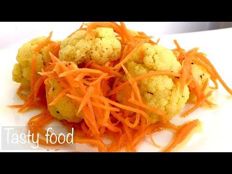 Как приготовить цветную капусту по корейски
