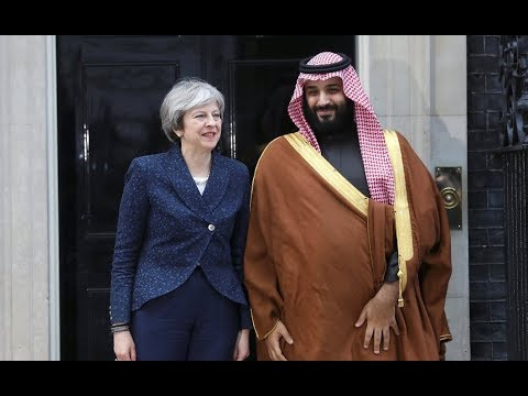 Saudi Prince Visits UK as Britain Boosts Murderous Arms Sales