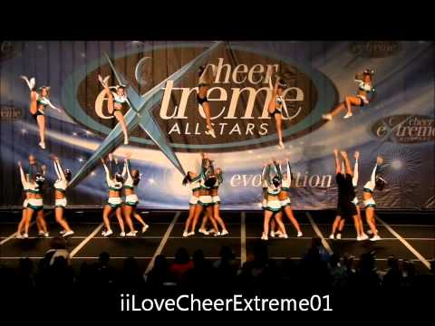 Cheer Extreme Small Senior X -Hit the lights-