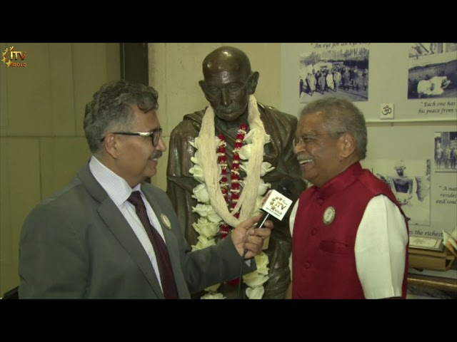Shanti Fund Celebrates Mahatma Gandhi's 150th Birth Anniversary | Wide Angle With Ashok Vyas