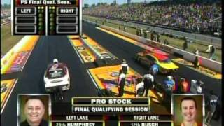 Kurt Busch Ronnie Humphreys Pro Stock Qualifying Final SessionThe Gator Nationals 2011 Drag Racing