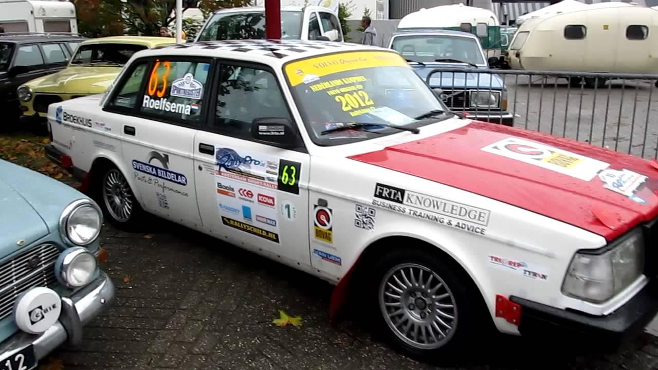 Volvo 240 rally car (Volvo Original Cup) - YouTube