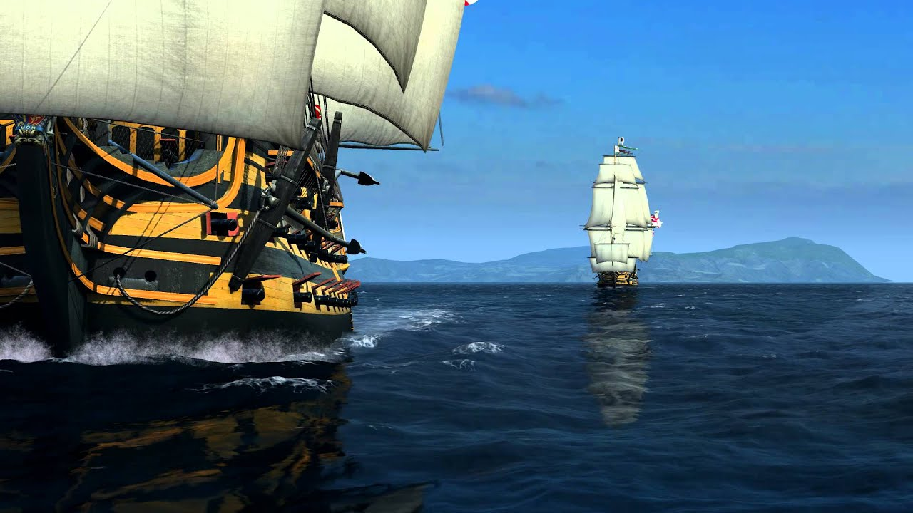 Assassins Creed 2 Wallpaper Hd 1080p Naval Action Hms Victory Test Hd Youtube