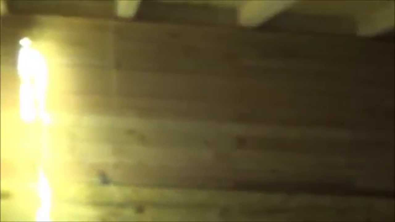 Rainy Day Working On LED Lighting In The Tiny House O27 - YouTube