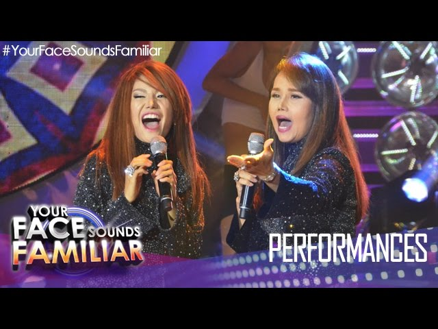 "Your Face Sounds Familiar: Myrtle Sarrosa as Vernie Varga - ""You're Always Be My Number One"""