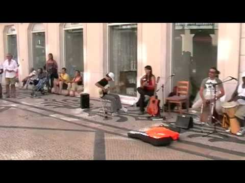 AMAZING street musicians Lisbon / GUENTS DY RINCON