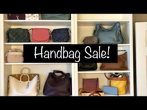 Closet Clear Out!! VLOG Handbag Sale!