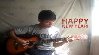 Happy New Year - Auld Lang Syne - Fingerstyle Guitar Cover
