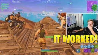 Tfue Cries of Laughter Building SKYBASE in Pro Scrims! - Fortnite FUNNY Wins