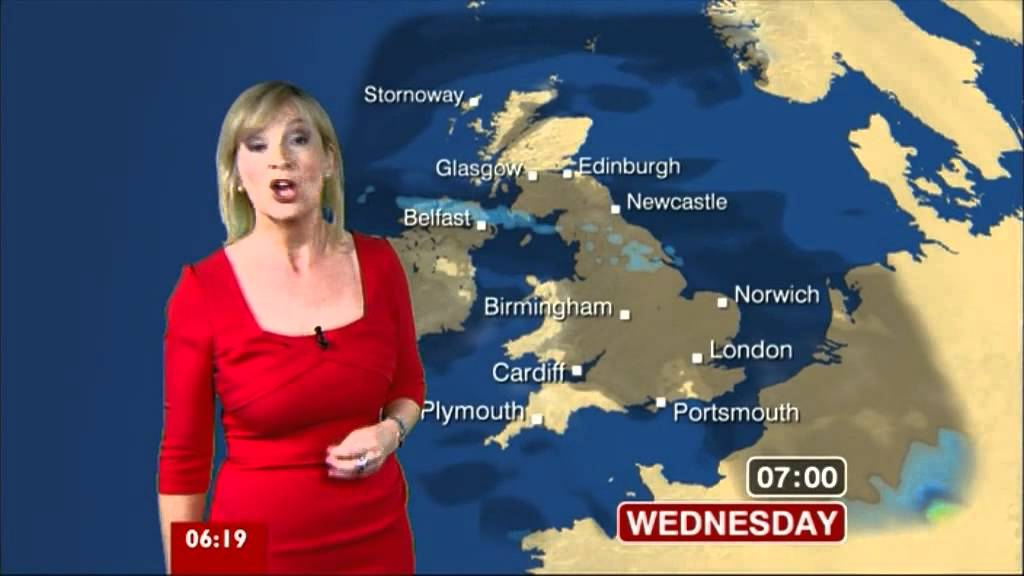 Carol Kirkwood Bbc News Breakfast 01st May 2012