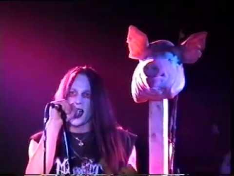 Mayhem Live in Leipzig 1998