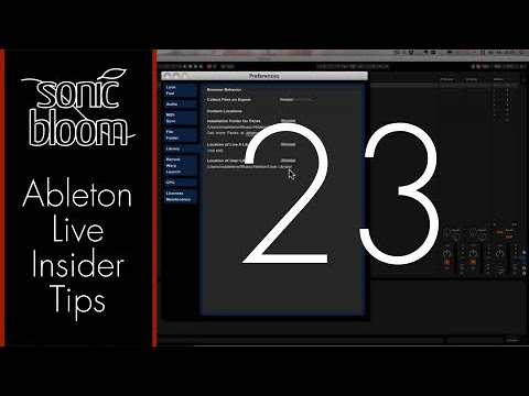 Ableton Live Insider Tips: User Library & Packs – Automatic Sync on