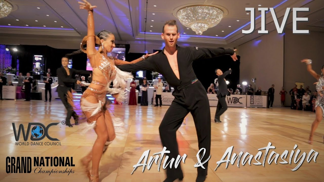 Artur Tarnavsky - Anastasiya Danilova (USA) Jive I WDC World Pro Latin 2019