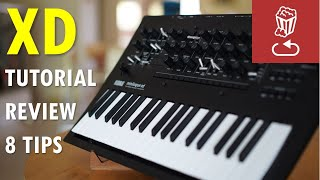 Korg Minilogue XD Review, tutorial and 8 patch ideas by Loopop