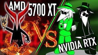 Red Devil 5700XT vs RTX 2070 & 2080 Super Cards!