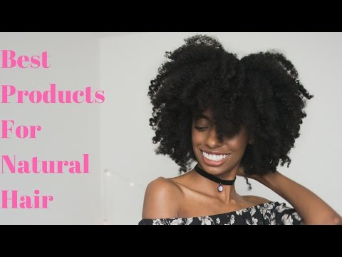 The Best Products for Long Natural Healthy Hair