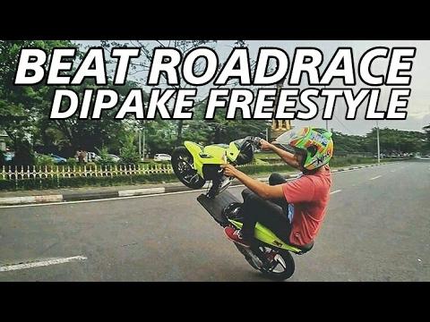 Beat Roadrace 150cc | Testride Wheelie | Motovlog Indonesia