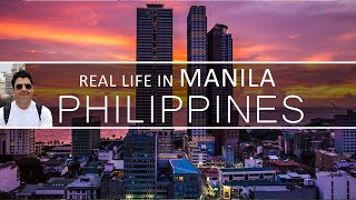 Real Life in Manila Philippines | Local Buses in Manila
