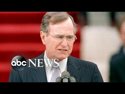 The life and legacy of George H.W. Bush