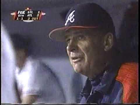 1996   St Louis Cardinals  vs  Atlanta Braves   NLCS Highlights  