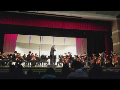 MBHS Winter Concert, Dec 2017. Conductor-michelle Roberts