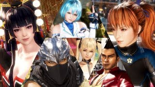 PS4『DEAD OR ALIVE 6』遊戲全貌介紹