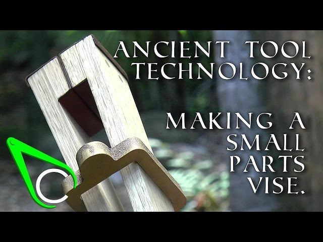 Antikythera Fragment #1 - Ancient Tool Technology - Making A Small Parts Vise