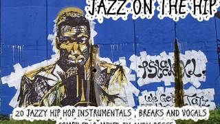 JAZZ ON THE HIP 20 JAZZY HIP-HOP INSTRUMENTALS, BREAKS, AND VOCALS IN THE MIX..