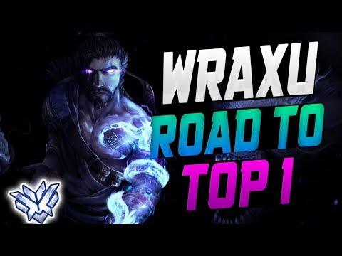 WRAXU BEST HANZO! He's INSANE! [ OVERWATCH SEASON 14 TOP 500 ] thumbnail