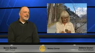 "Rotary Corner:  June 2020, ""Debora Soutar, 85 for 85"""