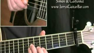 How To Play the Introduction to Simon & Garfunkel April Come She Will