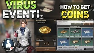 NEW VIRUS EVENT! HOW TO GET MEMORIAL COINS - LifeAfter