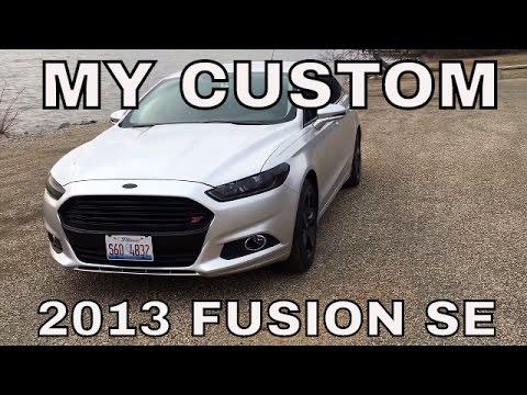 Custom 2013 Ford Fusion