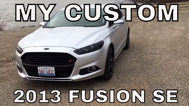Ford Fusion Mods >> Custom 2013 Ford Fusion Youtube