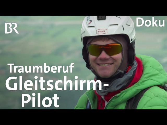Ferdinand Vogel: Bayerns bester Gleitschirm-Pilot | Bergauf-Bergab | Doku | BR