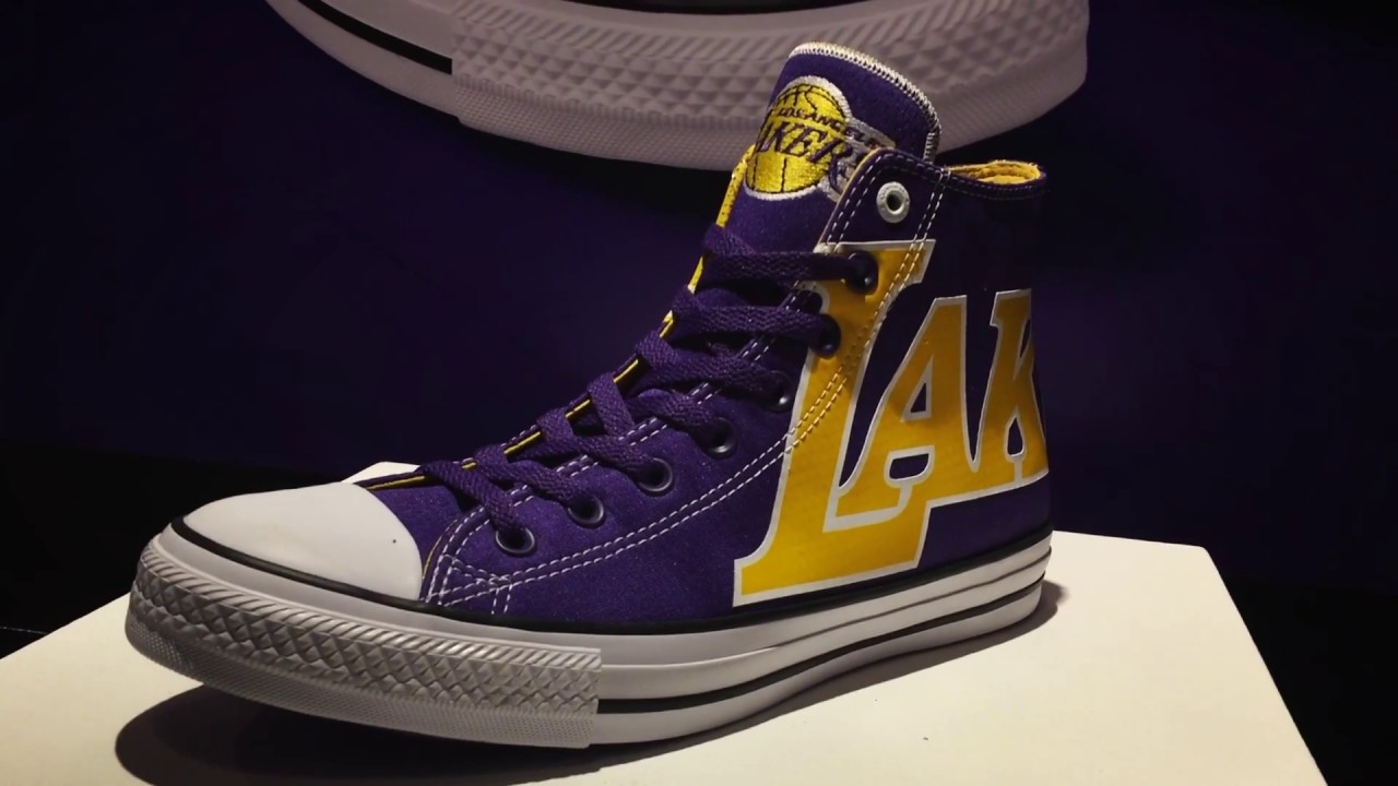 converse shoes nba 2k18 ratings lakers logo stencil