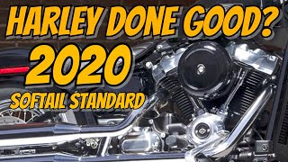 The 2020 Harley Davidson Softail Standard - The New Harley Nobody Cares About?