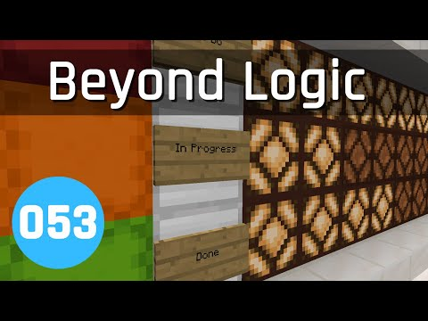Beyond Logic #53: Over-engineering | Minecraft 1.13