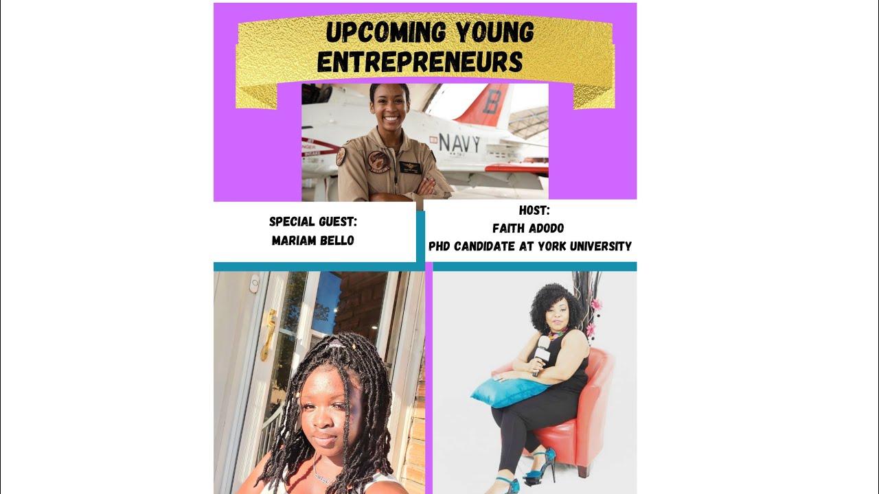 Upcoming young entrepreneur's Ft Mariam Ballo #youngenterprenur