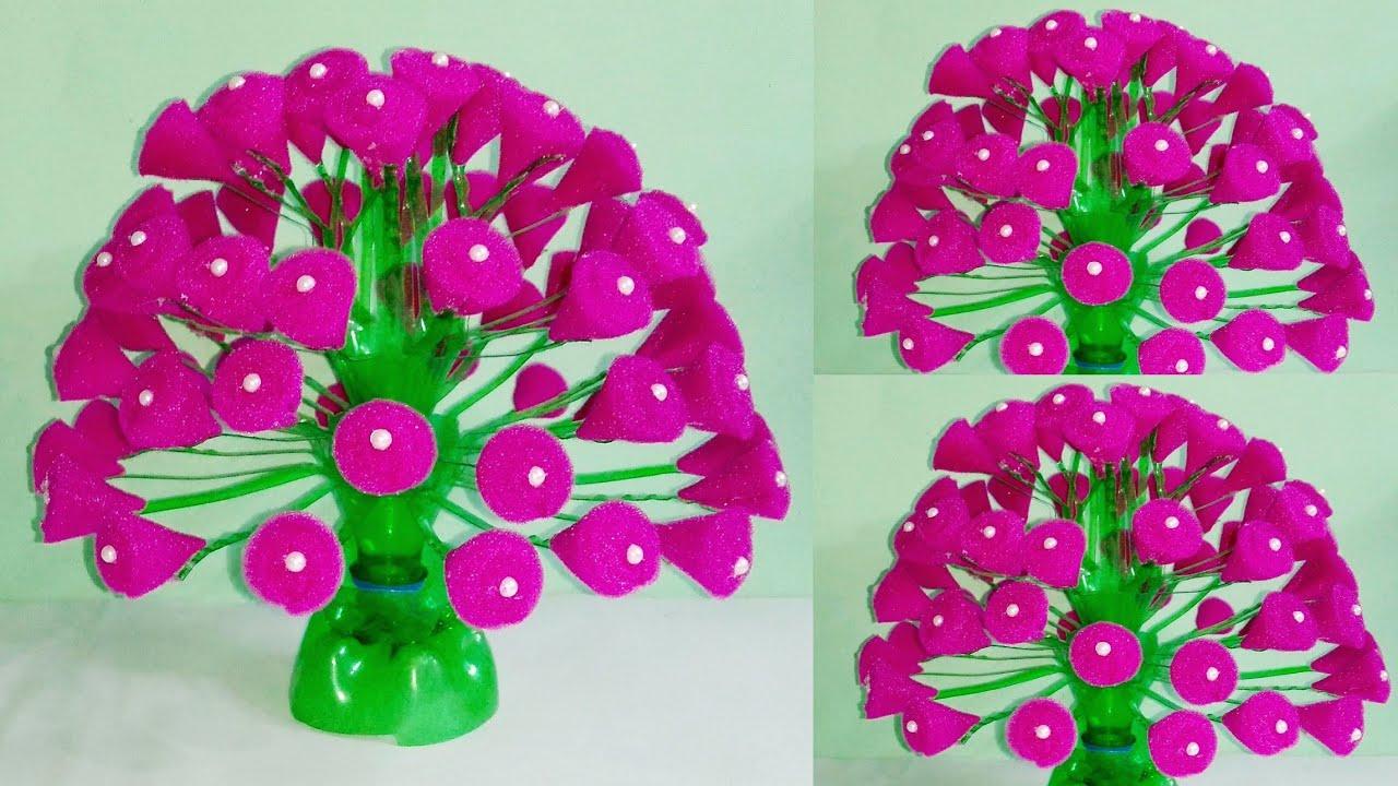 How To Make Flower Bouquet Phoolon Ka Guldasta Banane Ka
