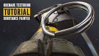 Grenade Tutorial - Part 2 - Baking & Texturing - Substance Painter