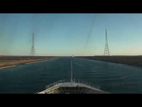 Suez Canal Timelapse